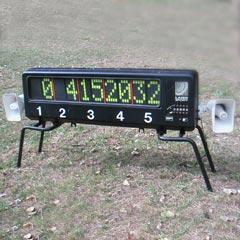 Ecran de comptage pour la location du ball trap laser