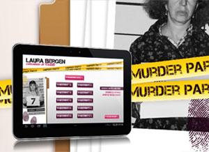 Les écrans pour organiser une murder party d'entreprise