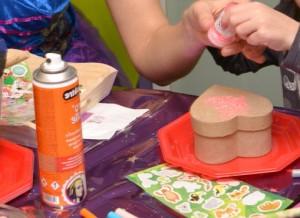 Un atelier créatif pour enfant