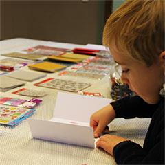 atelier créatif pour un family day d'entreprise