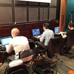 Atelier de montage du team building cinéma