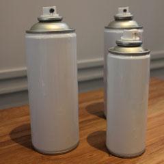 Bombe de peinture à infrarouge