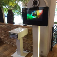 La borne numérique premium photo et vidéo