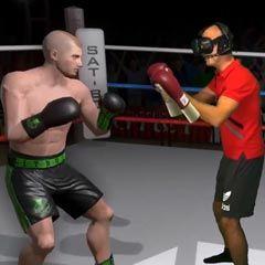 Jeux de simulation de combat de boxe en réalité virtuelle