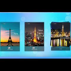 catalogue interactif pour écrans tactiles