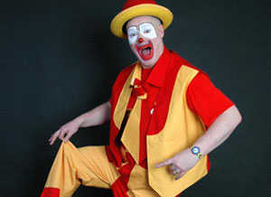 Animateur clown