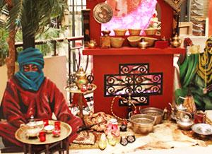 éléments de décors esprit souk oriental