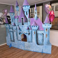 Grand décor de château de princesses à louer