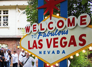 Reproduction du panneau Welcome to Las Vegas