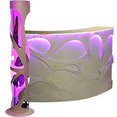 élément de mobilier design esprit lounge