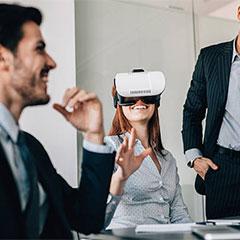 Jeu de cohésion et de communication d'équipe en réalité virtuelle