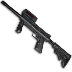 Le fusil laser du laser game