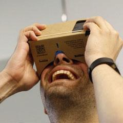 casque réalité virtuelle DIY pour l'animation digitale