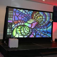 fresque graffity virtuel réalsiée lors d'un happening