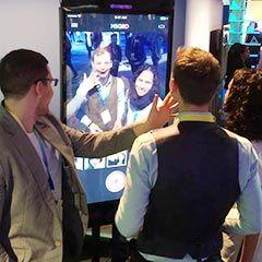 animation événementielle avec l'iphone ipad géant