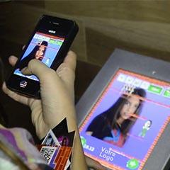 jeu événementiel sous android et iphone