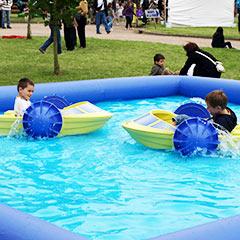 animation bateau pour organiser une garden party