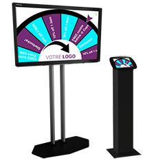 Jeu de loterie numérique pour l'animation d'une soirée