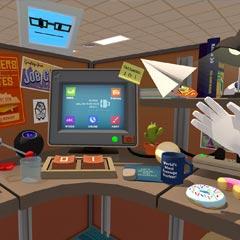 Jeu en réalité virtuelle de simulation de poste de travail