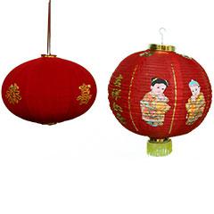 Lampions asiatique à suspendre en décors