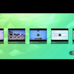 Lecteur de vidéo pour écrans tactiles