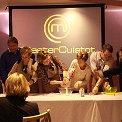 l'animation défi de cuisine lors d'un séminaire