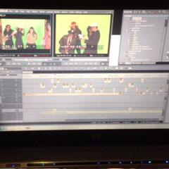 Montage du vidéo clip