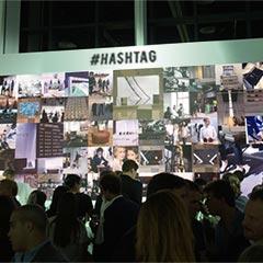 l'animation événementielle social wall présentant les photos instagram