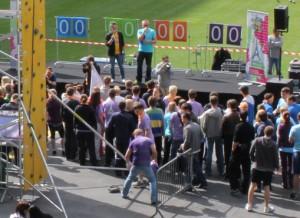 l'organisation d'une olympiade pour l'animation d'un team building