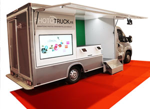 le camion Phototruck