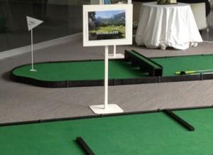Les parcours mini golf en location