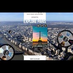 plan interactif et personnalisable pour écran tactile