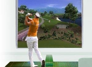 Location de jeu de simulateur de golf