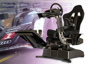 simulateur de conduite automobile utilisant la réalité virtuelle
