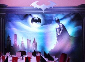 Décors pour la soirée super-héros