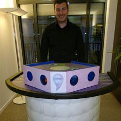 Un jeu des stand défis pour l'animation de soirée cocktail