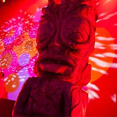 Reproduction d'une statue ethnique