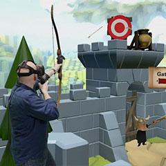 Jeu de tir en réalité virtuelle