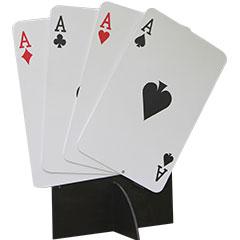 éventail de cartes à jouer géantes