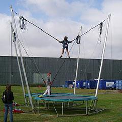location du trampoline élastique lors d'un événement