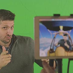 Inscrustation vidéo en réalité augmentée