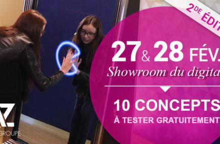 Showroom de l'animation digitale événémentielle 2017