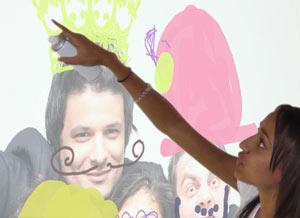 l'animation graffiti numérique pour l'événementiel digital